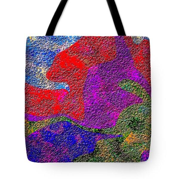 0732 Abstract Thought Tote Bag by Chowdary V Arikatla
