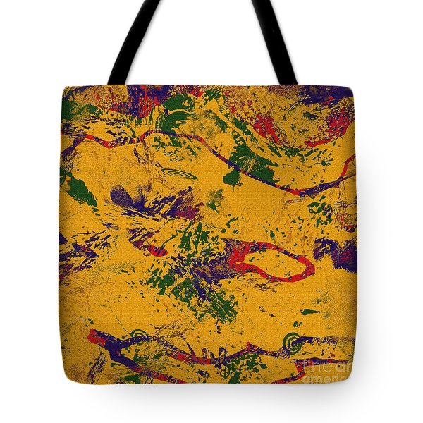 0859 Abstract Thought Tote Bag by Chowdary V Arikatla