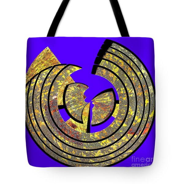 0985 Abstract Thought Tote Bag by Chowdary V Arikatla