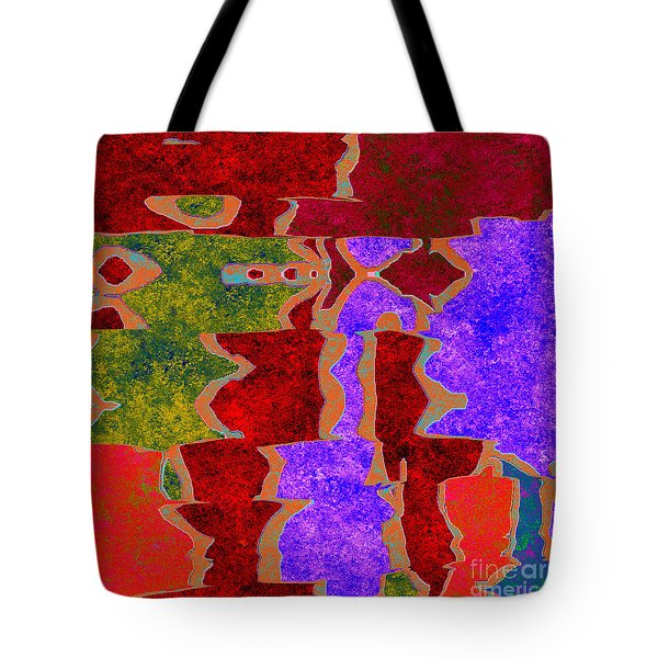 0322 Abstract Thought Tote Bag by Chowdary V Arikatla