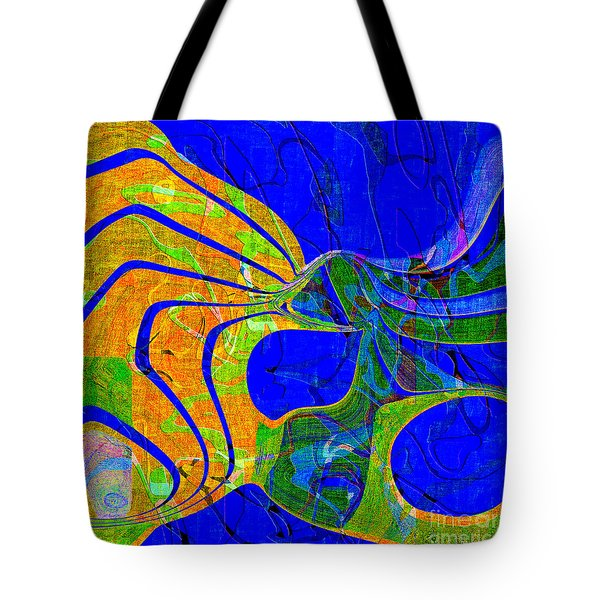 0565 Abstract Thought Tote Bag by Chowdary V Arikatla