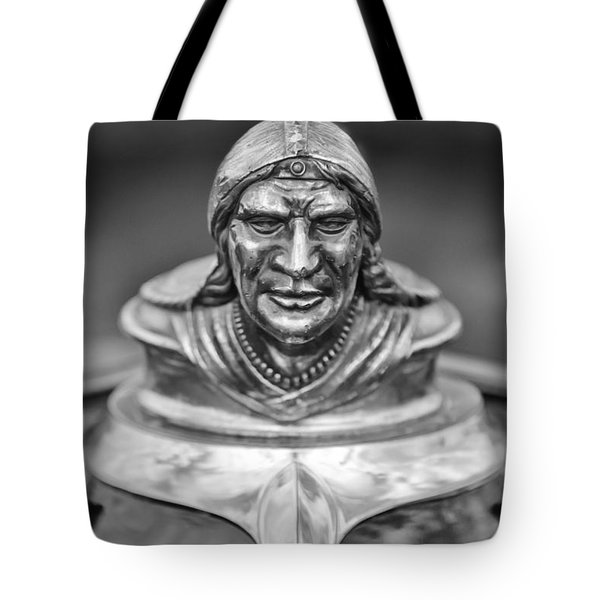 1928 Pontiac Hood Ornament Tote Bag by Jill Reger