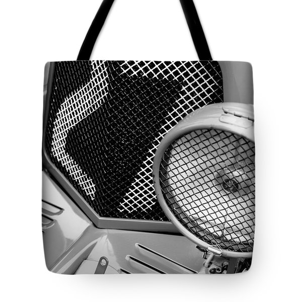 1935 Aston Martin Ulster Race Car Grille Tote Bag by Jill Reger