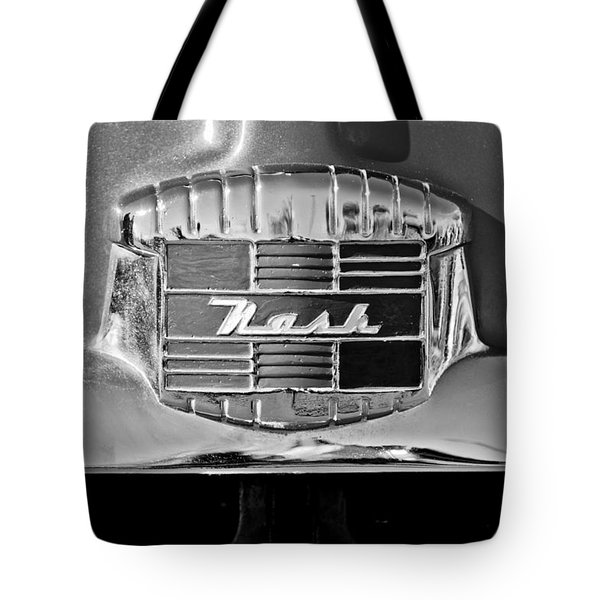 1951 Nash Emblem Tote Bag by Jill Reger