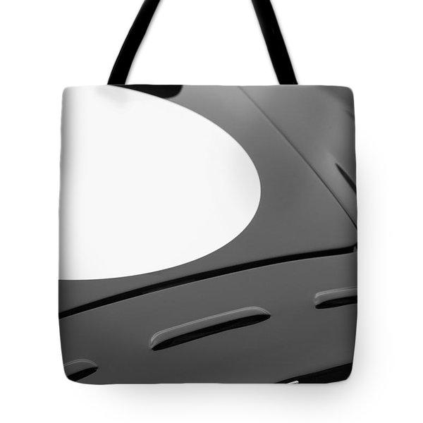 1952 Aston Martin Db3 Sports Hood Emblem Tote Bag by Jill Reger