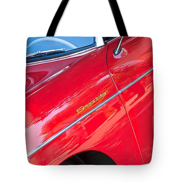 1955 Porsche 356 Speedster Tote Bag by Jill Reger