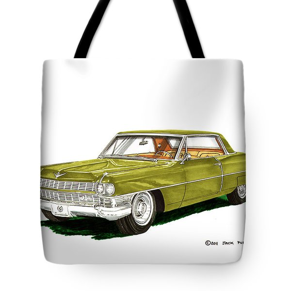 1964 Cadillac Coupe Deville Painting By Jack Pumphrey