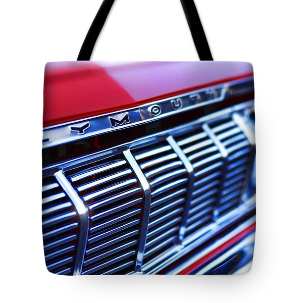 1964 Plymouth Savoy Tote Bag by Gordon Dean II
