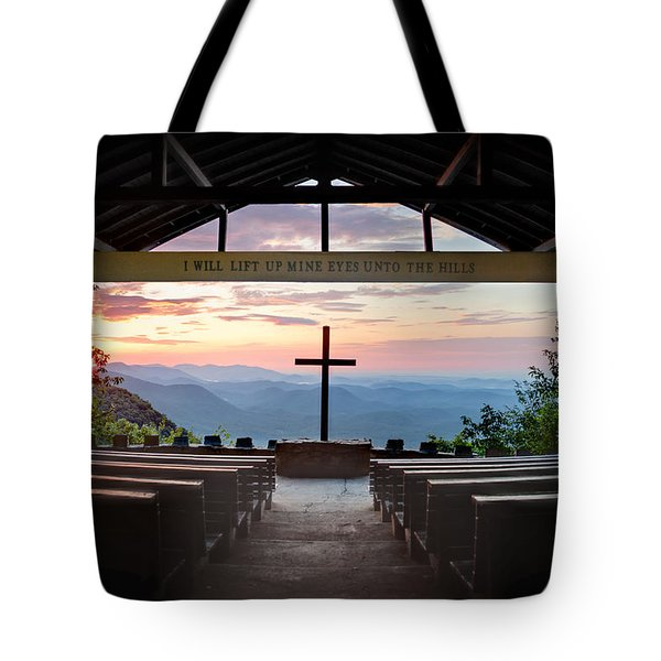 A Good Morning At Pretty Place Tote Bag by Rob Travis