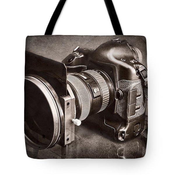 A Trusted Partner Tote Bag by Jeff Burton