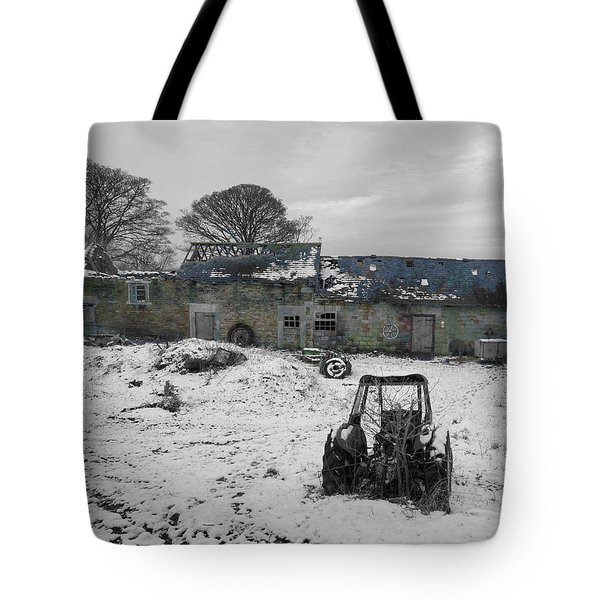 Abandoned To Nature Tote Bag by David Birchall