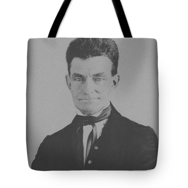 Abolitionist John Brown Tote Bag by War Is Hell Store