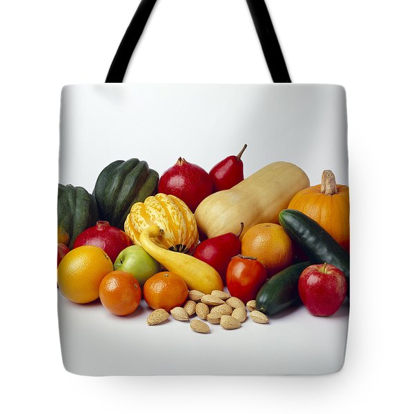 Agriculture - Autumn Fruits Tote Bag by Ed Young