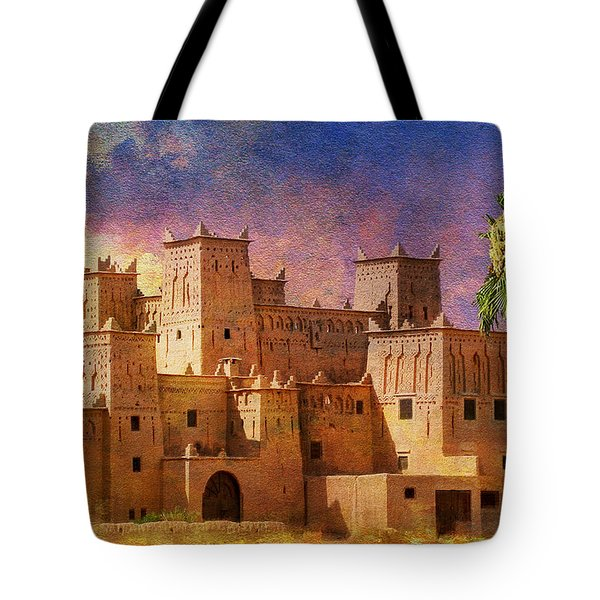 Ait Benhaddou Tote Bag by Catf
