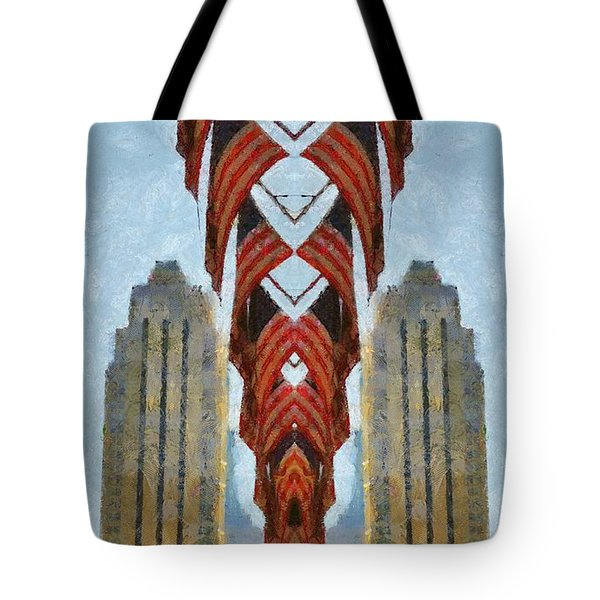 American Architecture Tote Bag by Dan Sproul