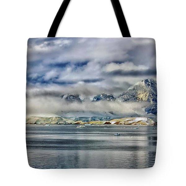 Antarctica Panorama Tote Bag by Mountain Dreams