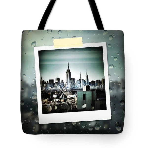 April In Nyc Tote Bag by Natasha Marco