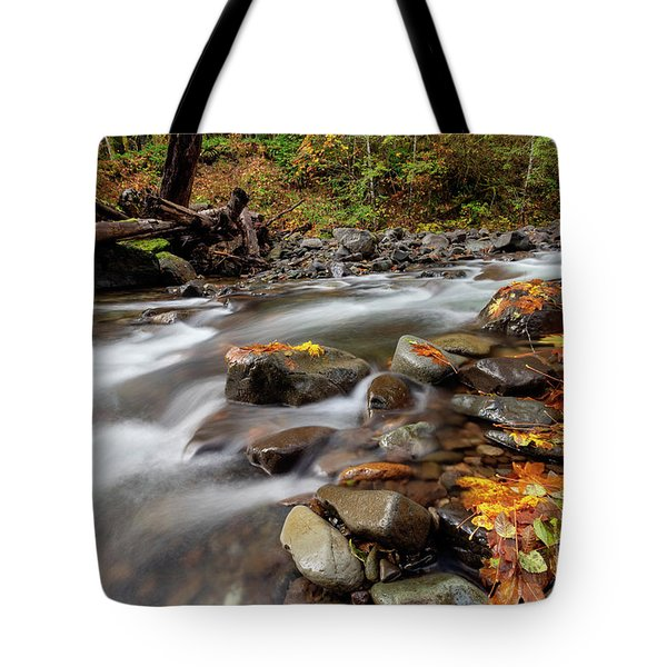 Around The Bend Tote Bag by Mike  Dawson