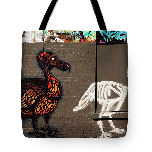 Artistic Graffiti On The U2 Wall Tote Bag by Panoramic Images