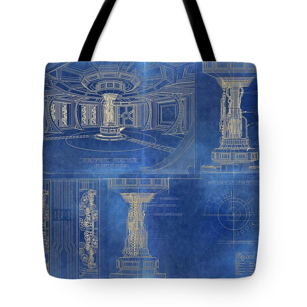 Atmospheric Processor Tote Bag by James Christopher Hill