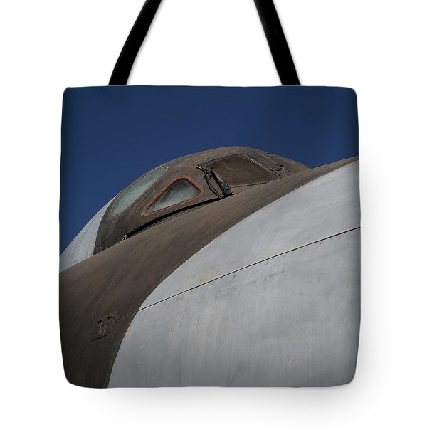 Avro Vulcan B.mk 2 Bomber Tote Bag by Carol Leigh