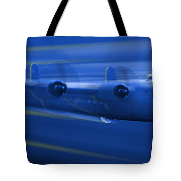 B-24 Liberator Legend Tote Bag by Mike McGlothlen