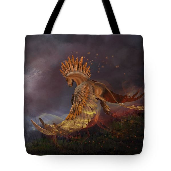 Back From The Nightmare Tote Bag by Kate Black