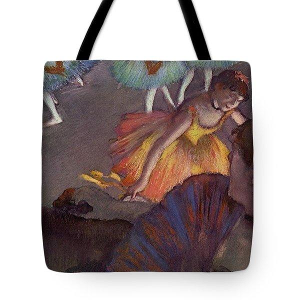 Ballet Tote Bag by Edgar Degas