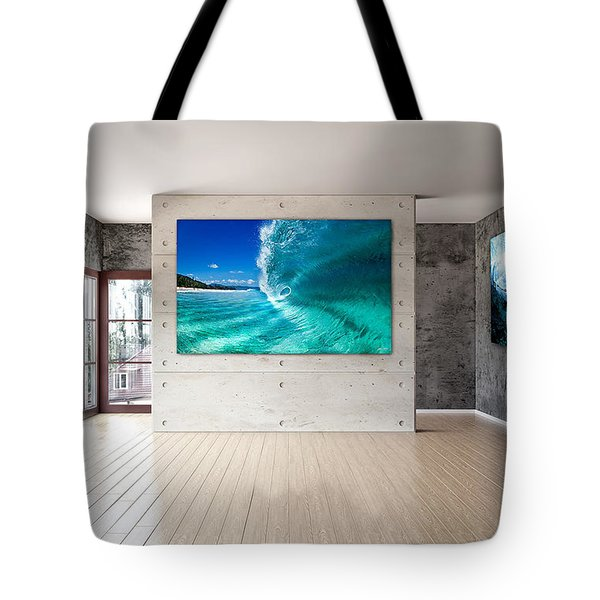 Barrel Swirl Tote Bag by Sean Davey