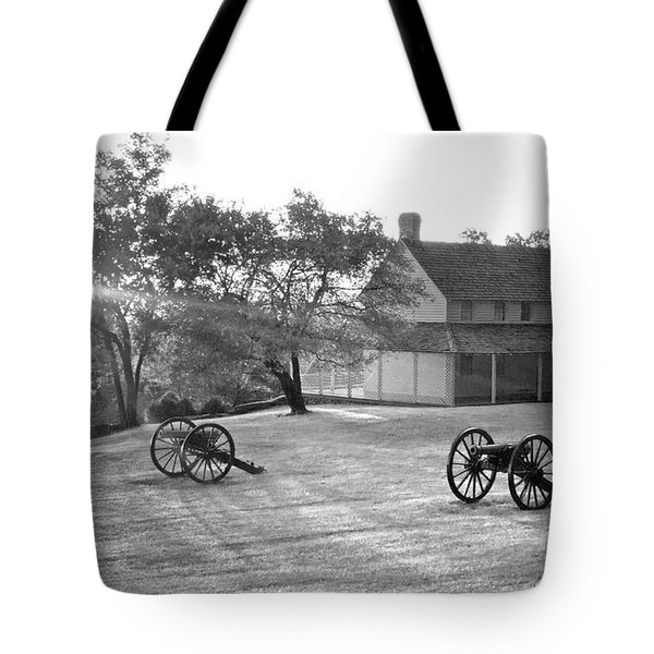 Battle Grounds Tote Bag by David Troxel
