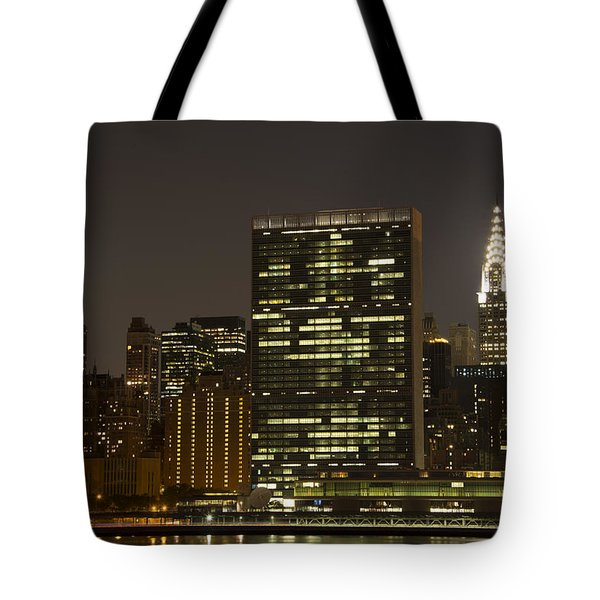 Beauty Of The Night Tote Bag by Theodore Jones