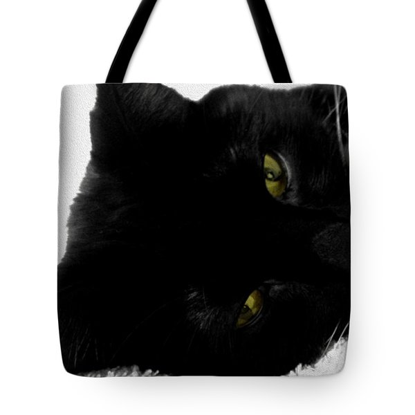 Beethoven Tote Bag by Cheryl Young