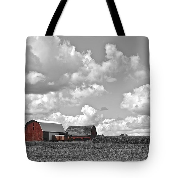 Big Sky Tote Bag by Frozen in Time Fine Art Photography
