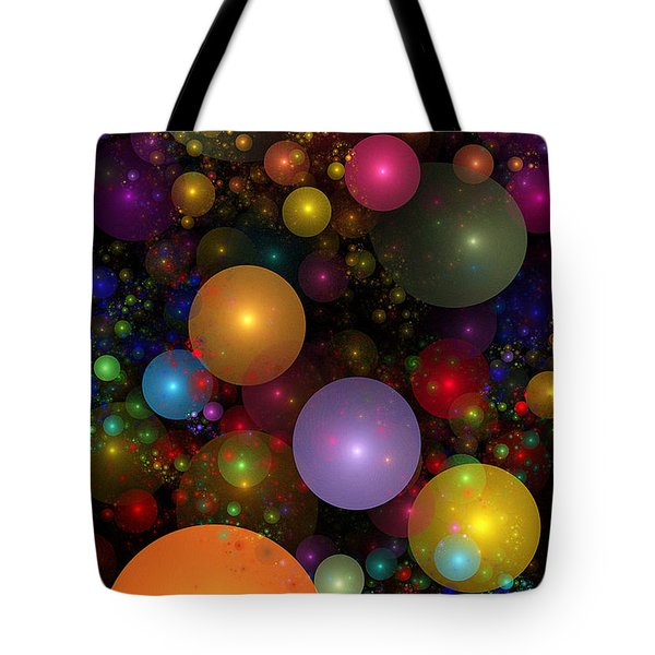 Billions of Bubbles Tote Bag by Peggi Wolfe