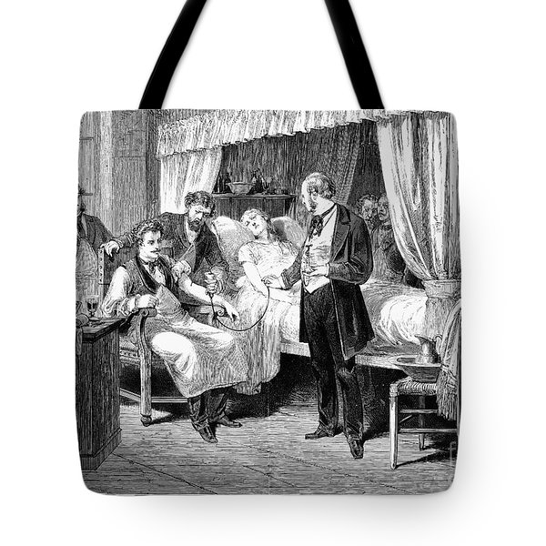 Blood Transfusion, 1874 Tote Bag by Granger