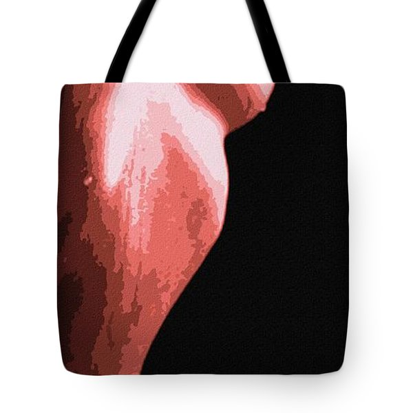 Body Waves 1 Tote Bag by Piety Dsilva