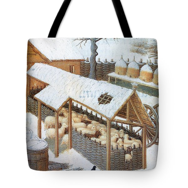 Book Of Hours: February Tote Bag by Granger