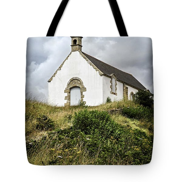 Breton church Tote Bag by Elena Elisseeva