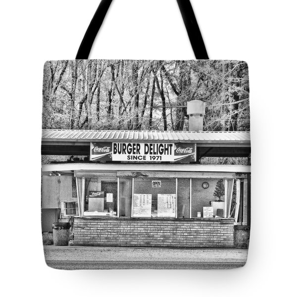 Burger Delight Tote Bag by Scott Pellegrin