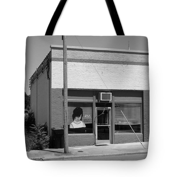 Burlington North Carolina - Small Town Business Tote Bag by Frank Romeo