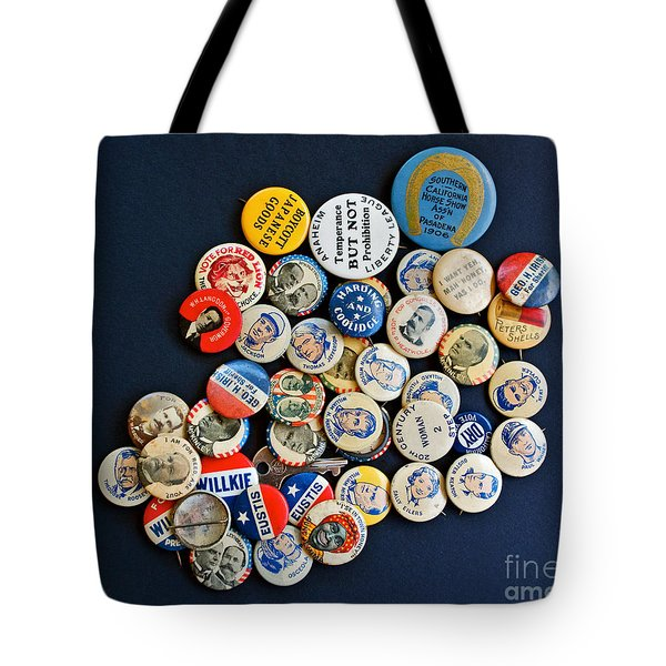Buttons Tote Bag by Gwyn Newcombe