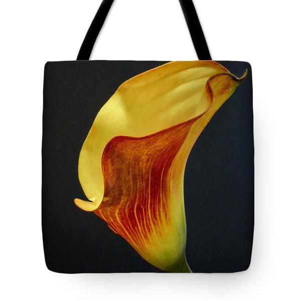 Calla Lilly Tote Bag by David and Carol Kelly