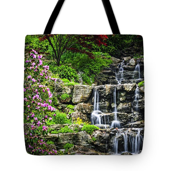 Cascading Waterfall Tote Bag by Elena Elisseeva