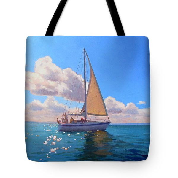 Catching The Wind Tote Bag by Dianne Panarelli Miller