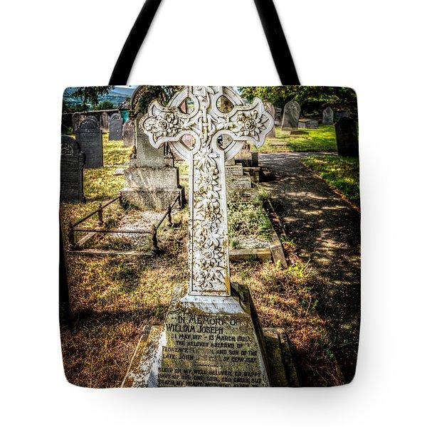 Celtic Cross Tote Bag by Adrian Evans
