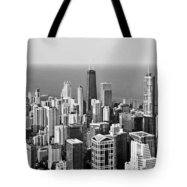 Chicago - That Famous Skyline Tote Bag by Christine Till
