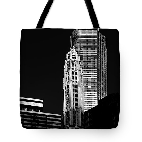 Chicago - Trump International Hotel And Tower Tote Bag by Christine Till