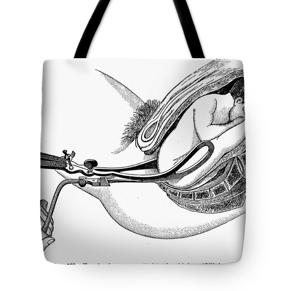 Childbirth, C1880 Tote Bag by Granger