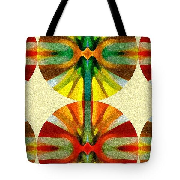 Circle Pattern 2 Tote Bag by Amy Vangsgard
