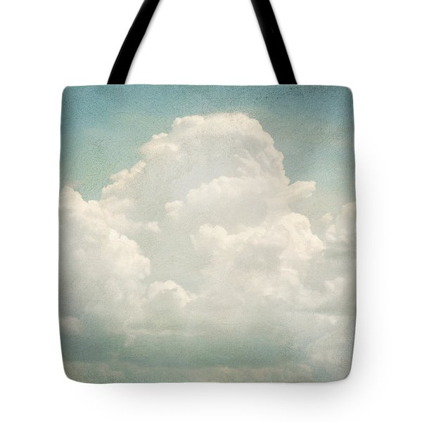 Cloud Series 3 Of 6 Tote Bag by Brett Pfister